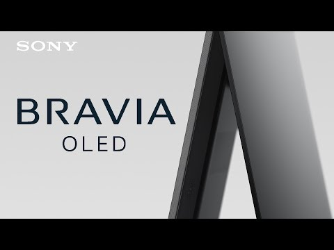 The new A1 BRAVIA OLED TV – a revolutionary combination of sound & picture quality