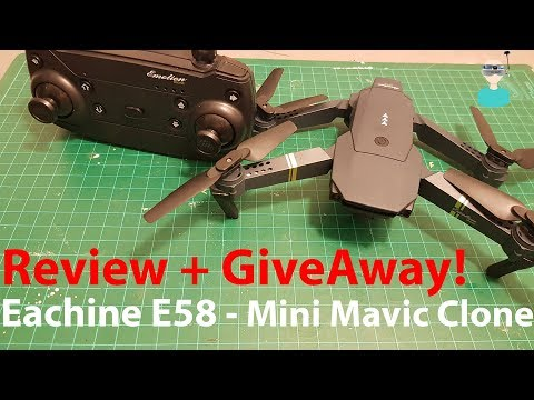 Eachine E58 - Full Review And Giveaway! - UCOs-AacDIQvk6oxTfv2LtGA