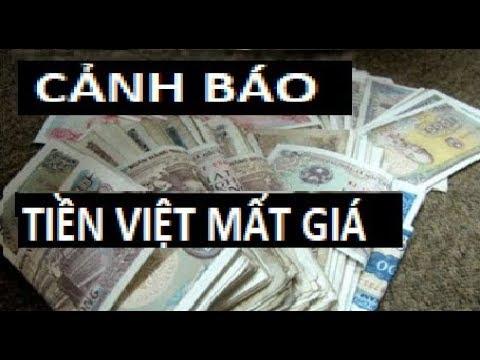 Cảnh báo tiền Việt mất giá và sẽ tiếp tục mất giá vì chiến tranh thương mại Trung Mỹ