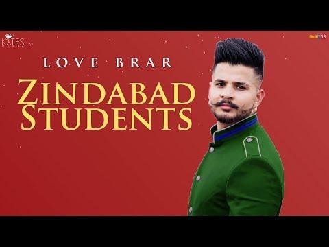 Zindabad Students Lyrics - Love Brar