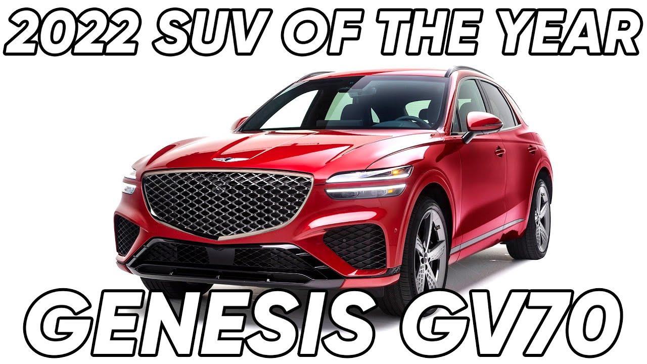 Announcing the 2022 MotorTrend SUV of the Year: Genesis GV70