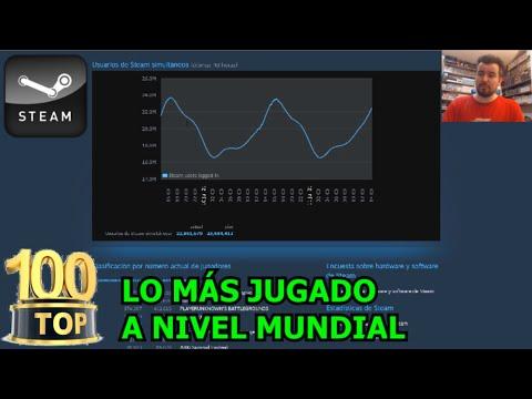TOP 100 VIDEOJUEGOS MÁS JUGADOS EN STEAM - ¿A qué juega la gente en todo el mundo?