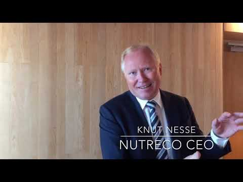 Knut Nesse, Nutreco CEO