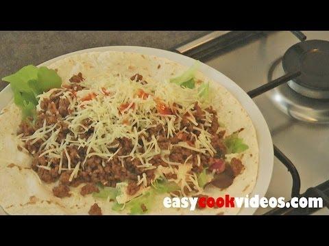 Quick Meals - Easy Ground Beef Recipes - Spicy Beef Wrap - UCgBOJQbEShMW2gguwIxBnDA