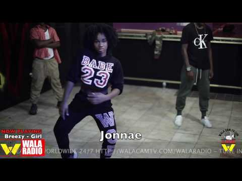 JONNAE SOLO'S A LAB SESSION TO DOLLA BREEZY -GIRL!!!!!!