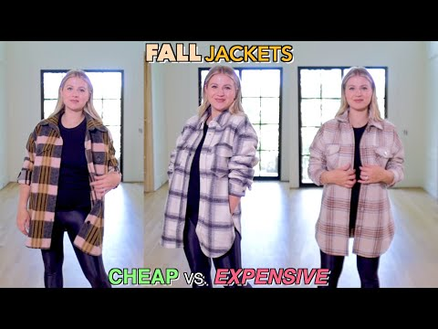 Fall Jackets | Cheap vs Expensive