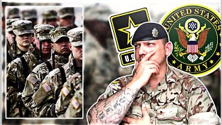 British Army Soldier Reacts to US Army Training (Reception)