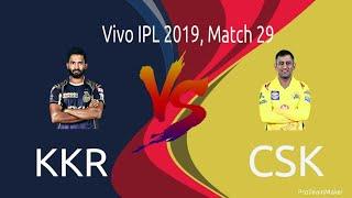 Kolkata vs Chennai Live commentary