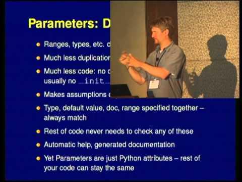Image from Param: Declarative programming using Parameters