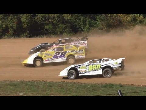 Street Stock Feature | Thunder Mountain Speedway | 10-9-16 - dirt track racing video image
