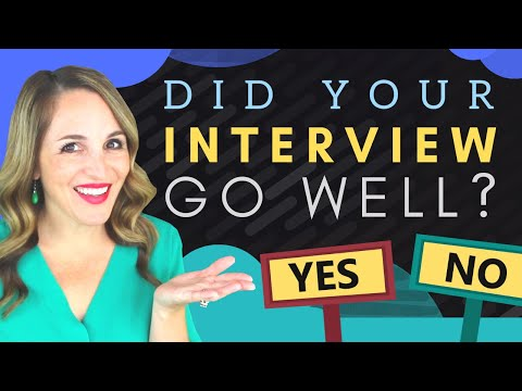 Signs Your Interview Went Well - 7 Signs An Employer Wants To Hire You photo