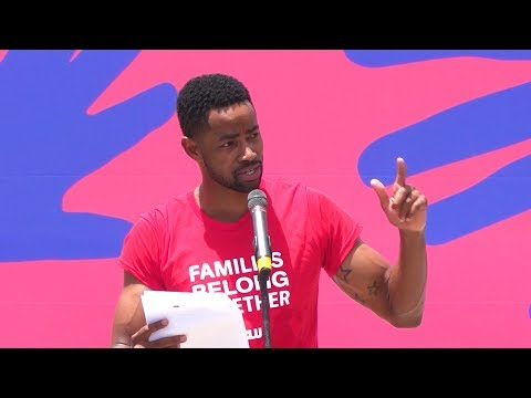 """Actor Jay Ellis of HBO's """"Insecure"""" Condemns Separation of Families at Protest in Brownsville, Texas"""