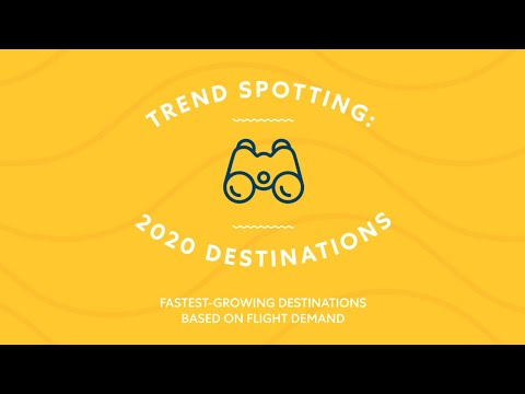 Top 10 Trending Destinations to Travel in 2020