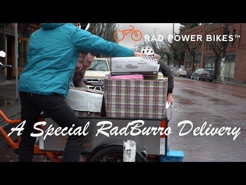 A Special RadBurro Delivery