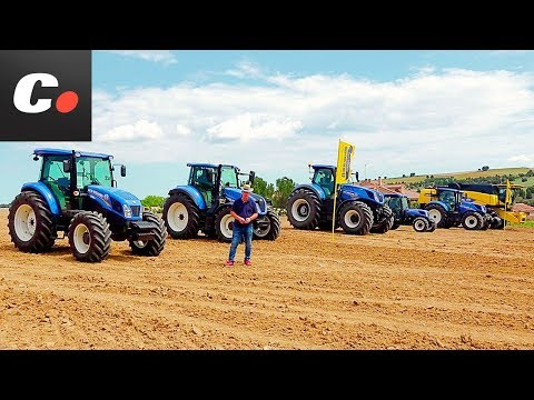 NEW HOLLAND JOB Cap. 3: Drag Race con ¡TRACTORES! | Coches.net