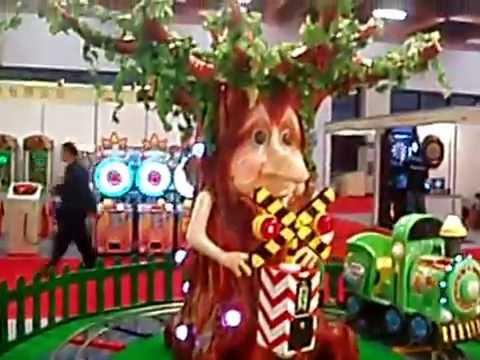 Barron Games - Forest Train Video