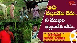 అది నల్లబడేది లేదు.. నీ ముఖం తెల్లబడేది లేదు.. | Ultimate Movie Scenes | TeluguOne