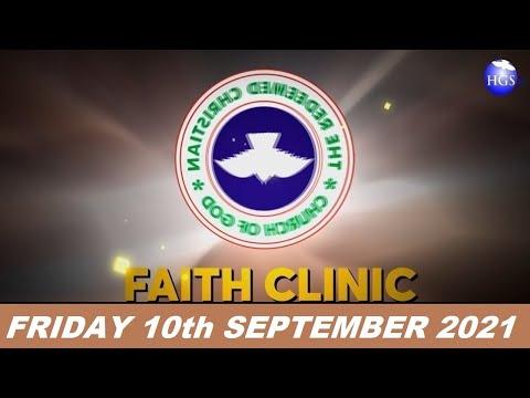 RCCG SEPTEMBER 10th 2021 FAITH CLINIC