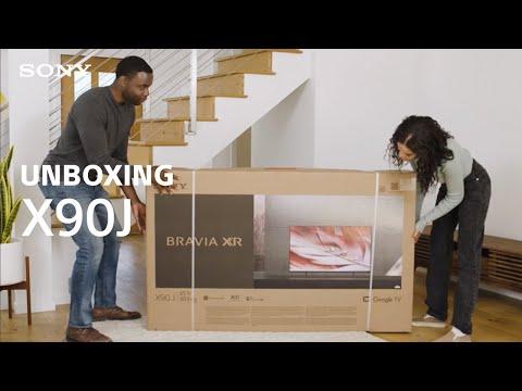 Unboxing: Sony BRAVIA® XR X90J TV