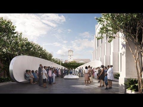 Michael Arad unveils Emanuel Nine Memorial to commemorate Charleston church shooting