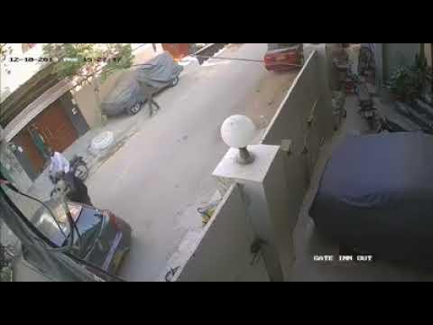 Street Crime Footage At Gulshan Iqbal Baitul Mukarram