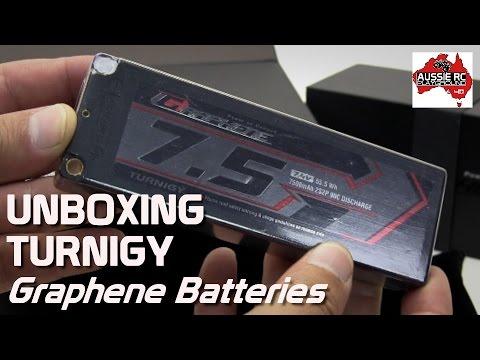 Unboxing: Turnigy Graphene Batteries 7500mAh 2S - UCOfR0NE5V7IHhMABstt11kA