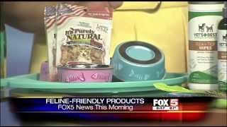 Feline-Friendly Products with Charlotte Reed: Fox5 News This Morning