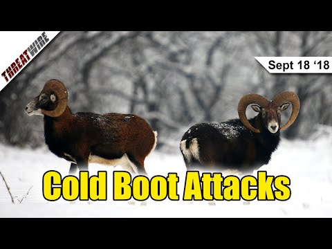 Cold Boot Attacks are Back! - ThreatWire