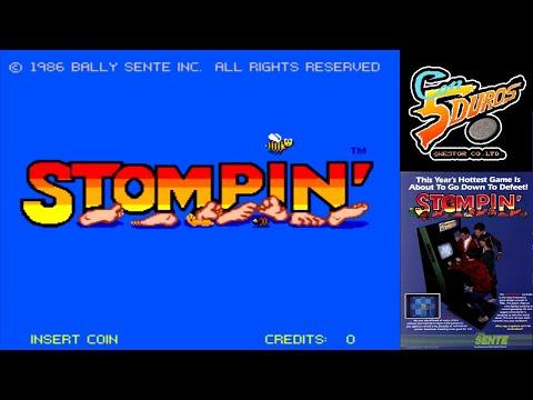 """STOMPIN' - """"CON 5 DUROS"""" Episodio 815 (+ MOLE [ASCII] / MSX) (1cc)"""