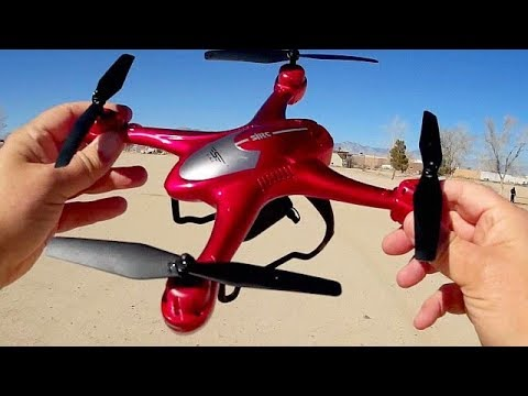 SJRC S30W GPS FPV Follow Me Drone Flight Test Review