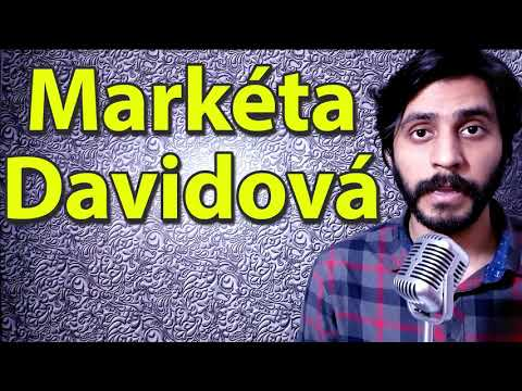 How To Pronounce Marketa Davidova