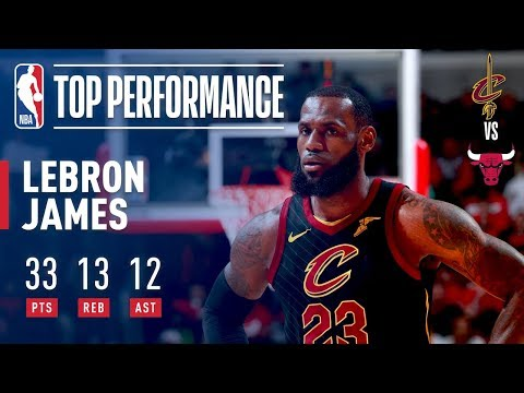 LeBron James' 15th TRIPLE DOUBLE in Year 15!