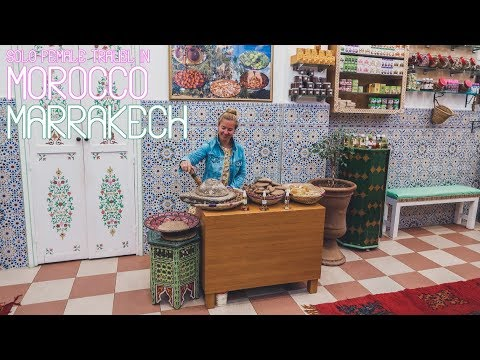 Solo Female Travel in Morocco – A rainy day in Marrakech - Episode 6
