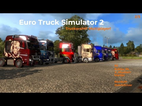 Euro Truck Simulator 2  TruckersMP  Part 25 Livestream 25112017