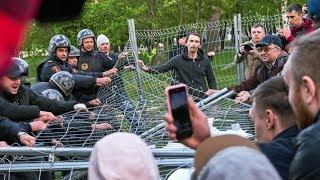 Екатеринбург: задержания аресты.