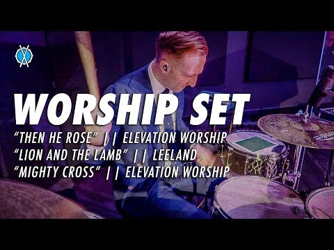 Worship Set // Then He Rose - Lion and the Lamb - Mighty Cross // Daniel Bernard
