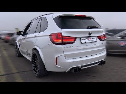 HAMANN BMW X6M REVS & DRAG RACE!