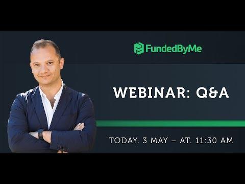 FundedByMe Webinar: Q&A