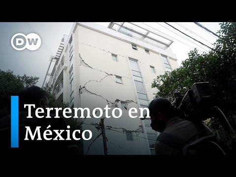 Un terremoto de 7,5 grados sacude el sur de México