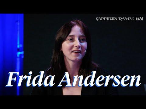 Intervju med debutant Frida Andersen