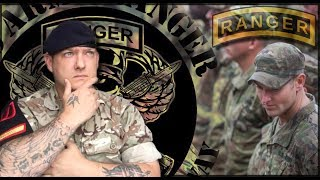 British Army Soldier Reacts to U.S Army Ranger School (Training)