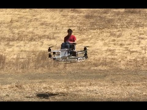 Guy builds working hoverbike in garage - UCIfeJxXjj2sVvhR4oXF7kRw