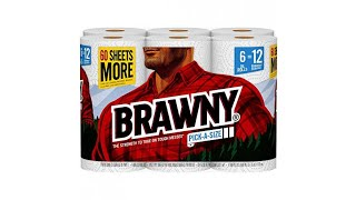 Everyday Product Review!!! Bounty Quick-Size Paper Towels, 2 Family Rolls, White, Prime Pantry