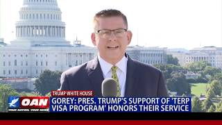 Combat Veteran: President Trump's support of 'Terp Visa Program' honors their service