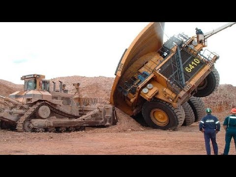 World Dangerous Dump Truck Operator Skill - Biggest Heavy Equipment Machines Working - UCaKE8oWQyysyQ3tuO136Vjg