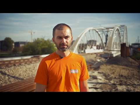 Pracownicy budowlani STRABAG – budownictwo kolejowe