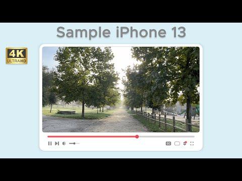 Test di ripresa video da iPhone 13 in 4K