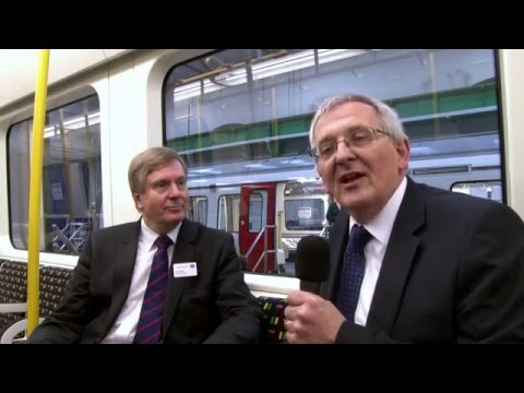 Final vehicle's completion of the 1,395th vehicle for London Underground - Interview with Nick Brown