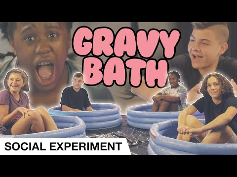 YOUTH Sit In Gravy For $100  Social Experiment  Elevation YTH