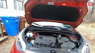 Sostituzione filtro aria motore KIA SPORTAGE 2020